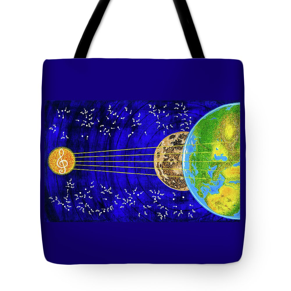 Instrument Tote Bag featuring the painting Instrument by Slava Shahov