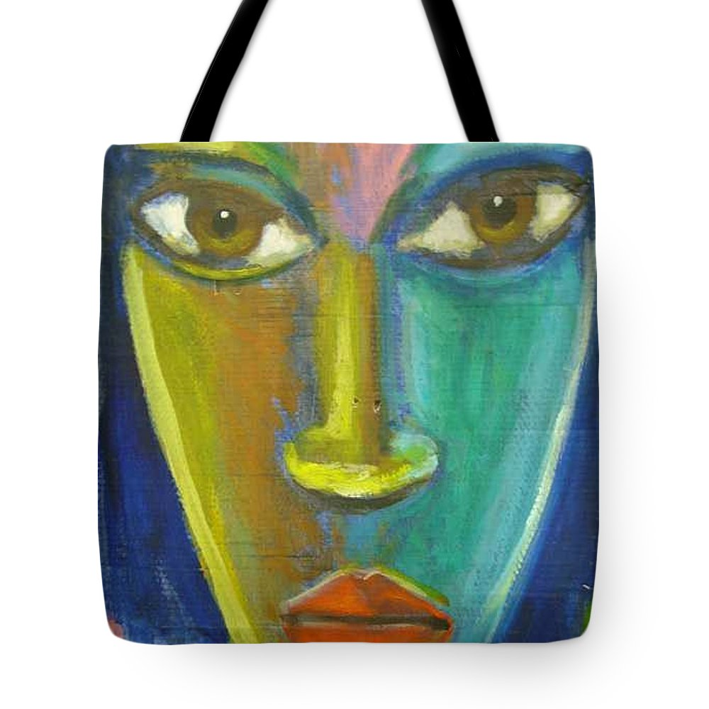 Painting Tote Bag featuring the painting Intensity by Jan Gilmore