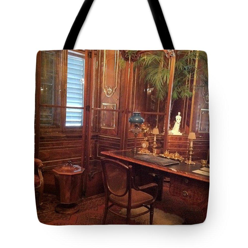 Tote Bag featuring the photograph Interior Architecture by Daniela Buciu