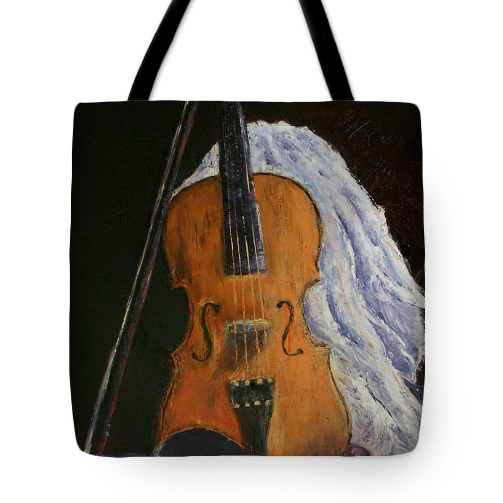 Original Tote Bag featuring the painting Intermission by Stephen King