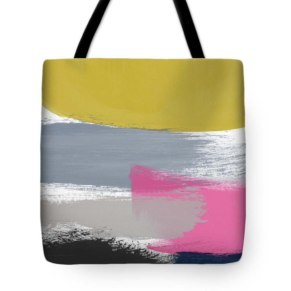 Abstract Tote Bag featuring the painting Jubilee Mix 2- Abstract Art By Linda Woods by Linda Woods
