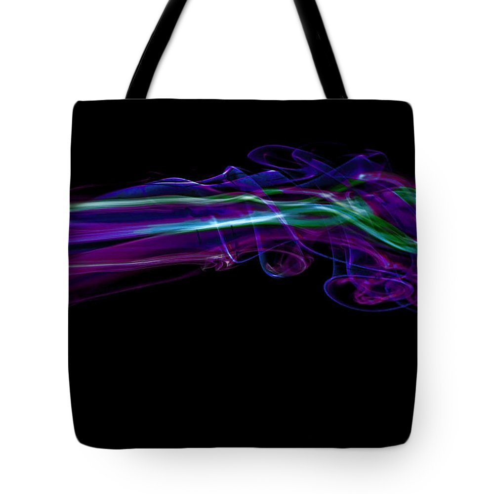 Illusion Tote Bag featuring the photograph Intertwined by Thomas Morris