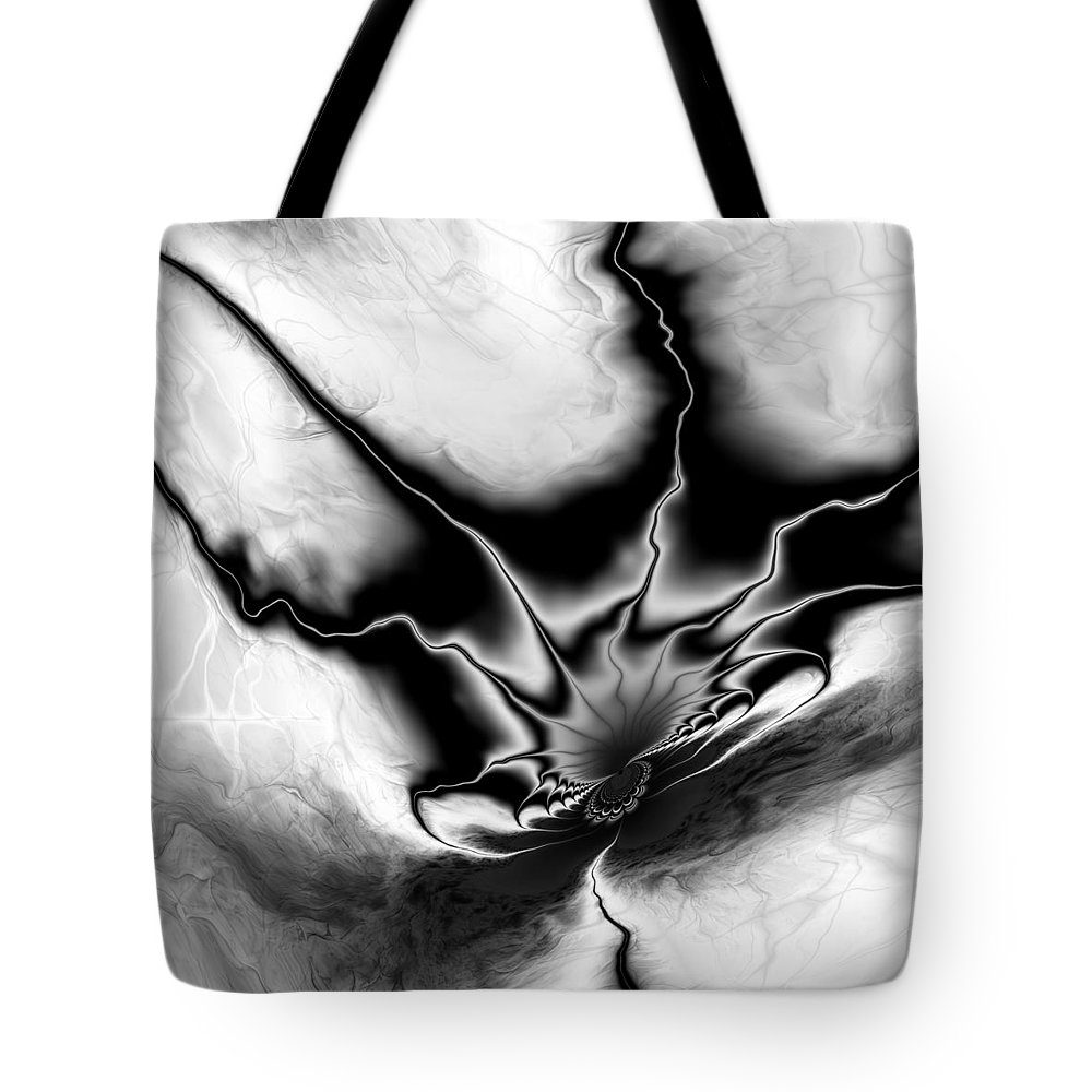 Vic Eberly Tote Bag featuring the digital art Into My Lair by Vic Eberly