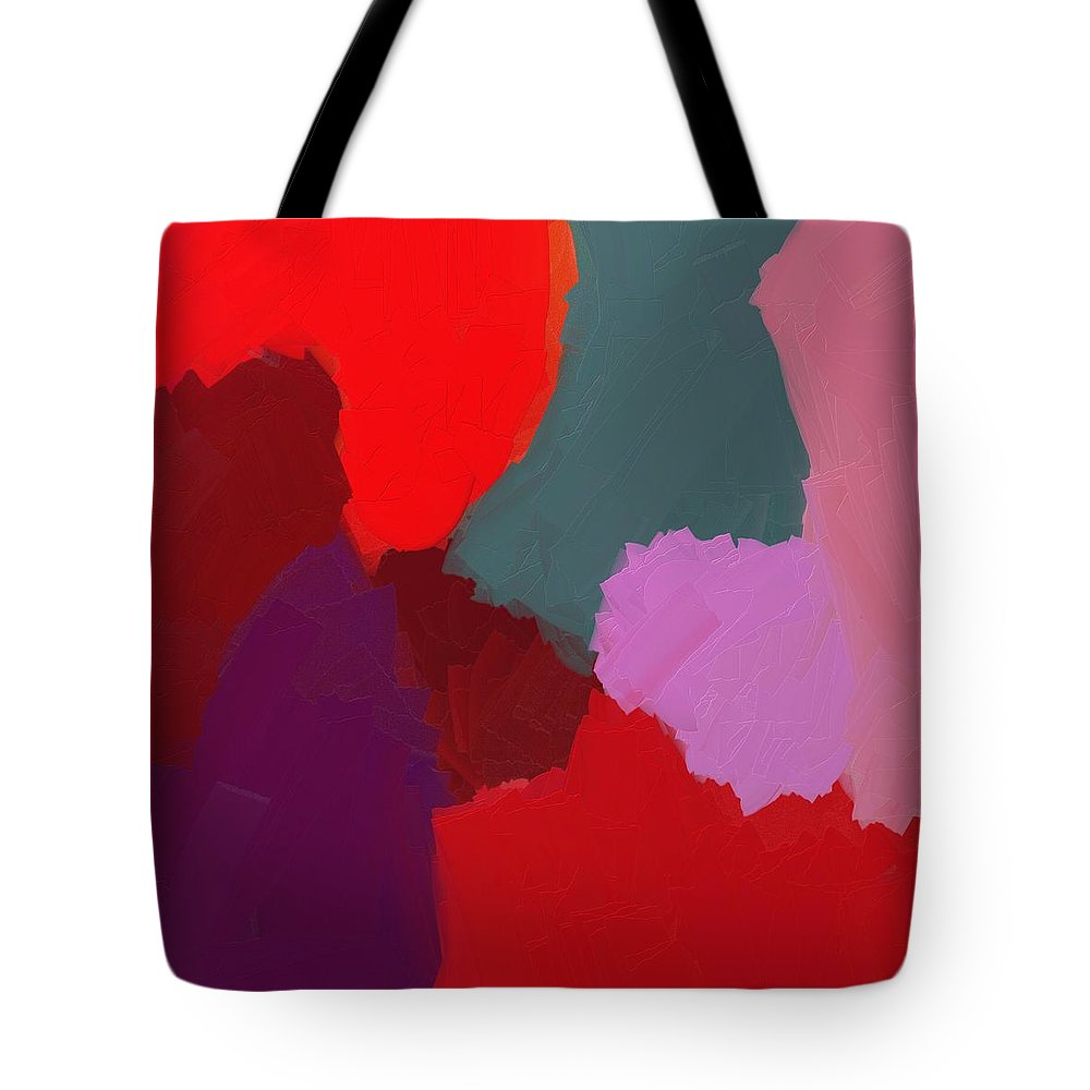 Into The Deep Tote Bag featuring the painting Into The Deep by Nelma Grace Higgins