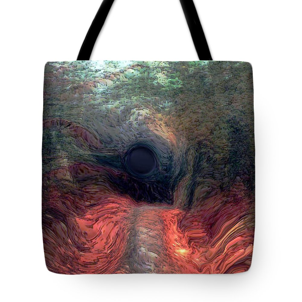 Forest Tote Bag featuring the photograph Into The Forest by Linda Sannuti