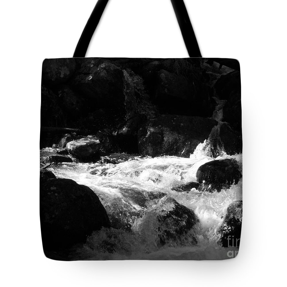 Rivers Tote Bag featuring the photograph Into The Light by Amanda Barcon