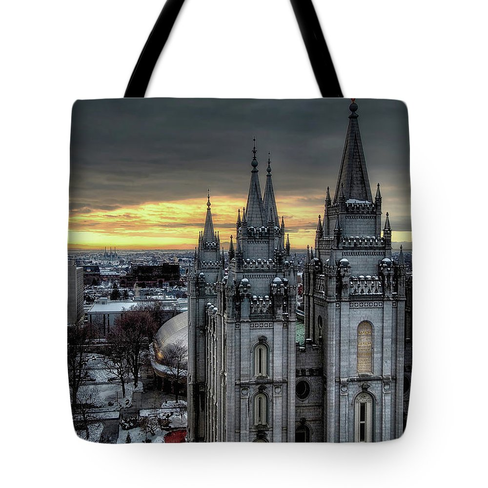 Light Tote Bag featuring the photograph Into The Light by Jim Hill