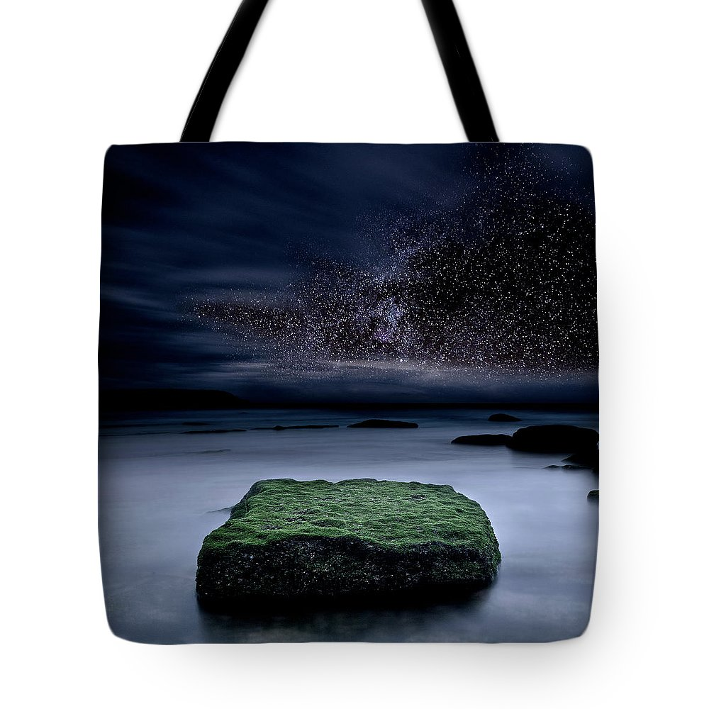 Night Tote Bag featuring the photograph Into The Shadows by Jorge Maia