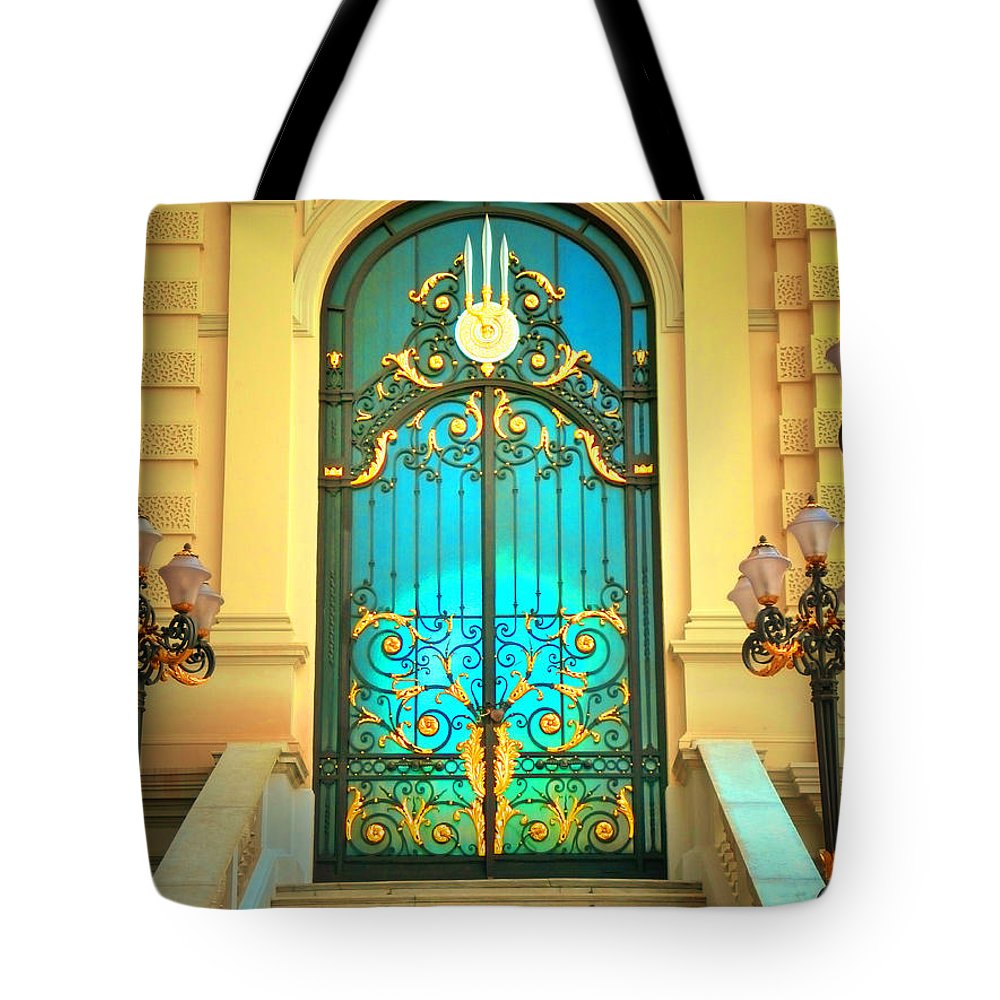 Door Tote Bag featuring the photograph Intricacies by Tara Turner