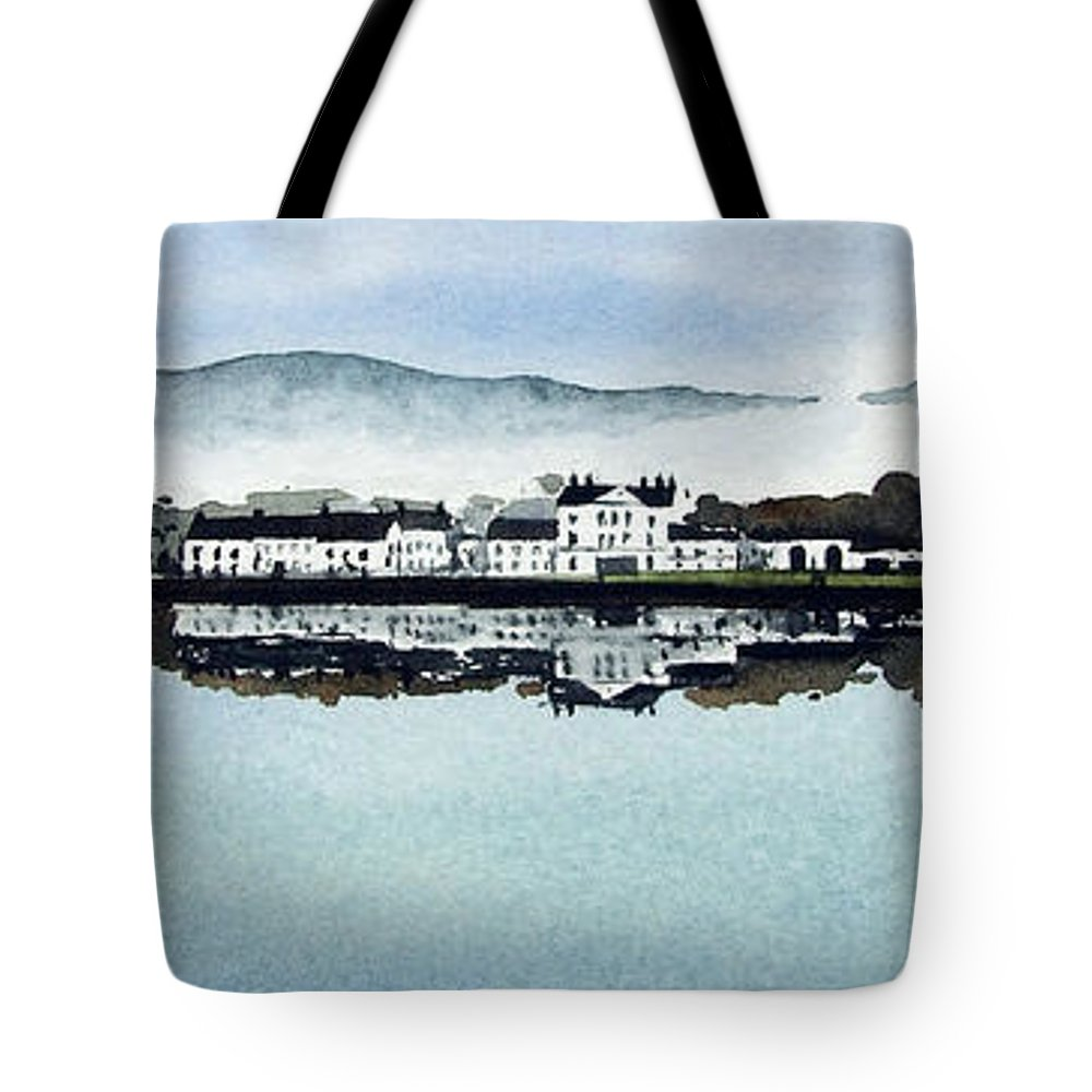 Scotland Tote Bag featuring the painting Inverary by Paul Dene Marlor