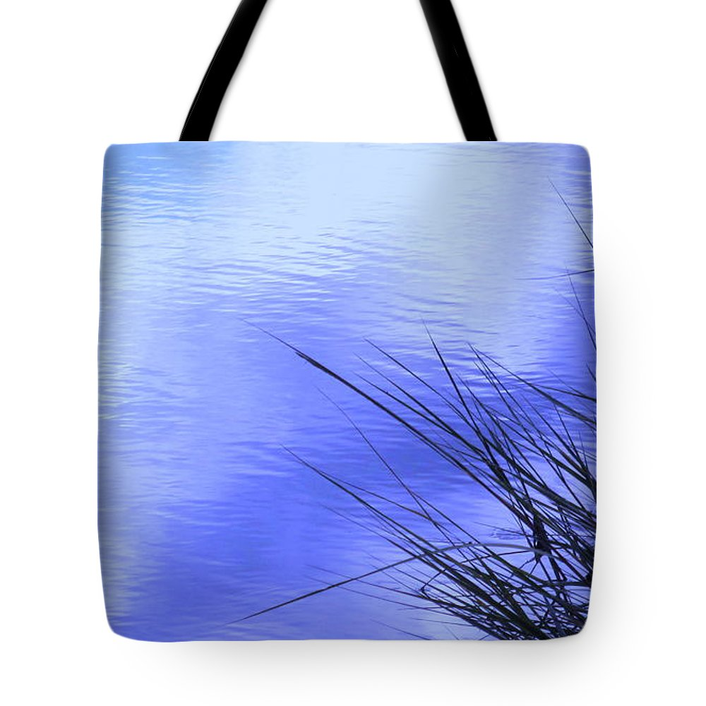 Water Tote Bag featuring the photograph Initiation by Sybil Staples