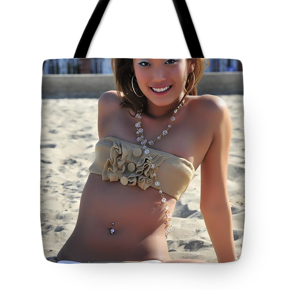 Glamour Photographs Tote Bag featuring the photograph Inviting by Robert WK Clark