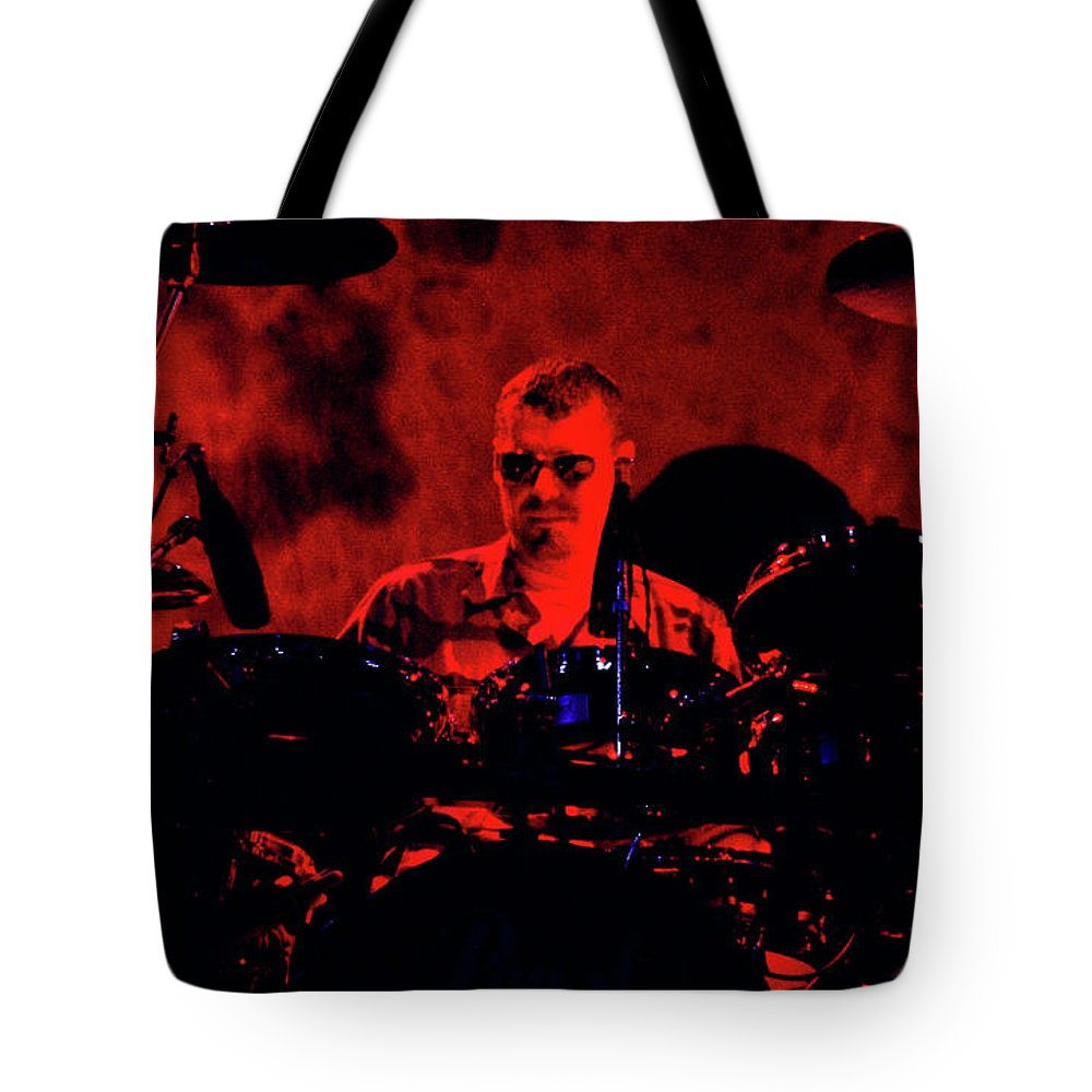 Inxs Tote Bag featuring the photograph Inxs-94-jon-1261 by Timothy Bischoff