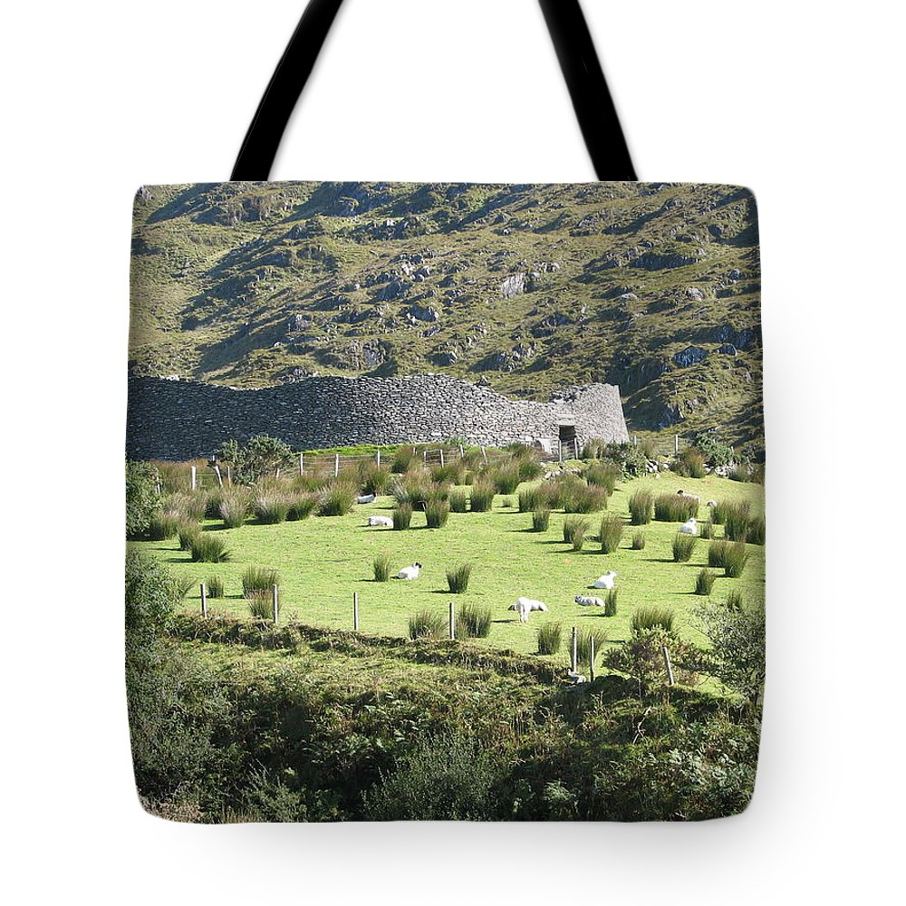 Ireland Tote Bag featuring the photograph Ireland by Kelly Mezzapelle
