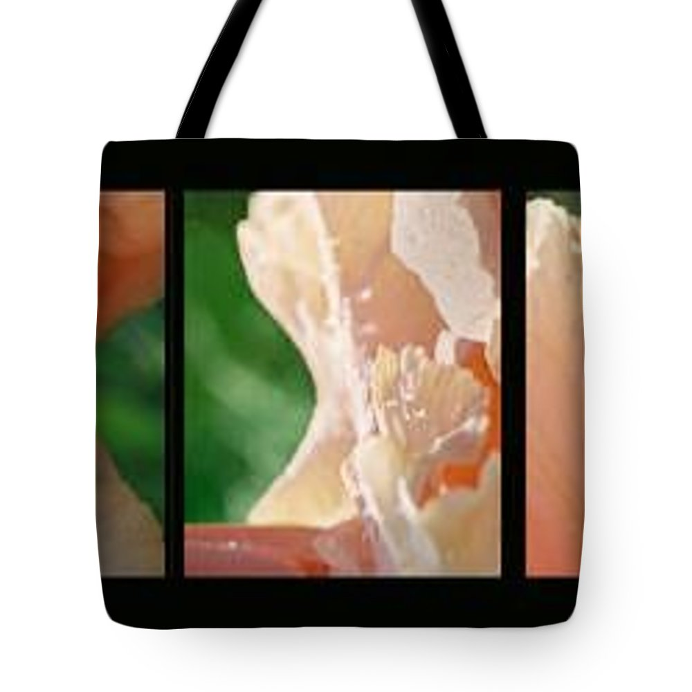 Abstract Tote Bag featuring the photograph Iris by Steve Karol