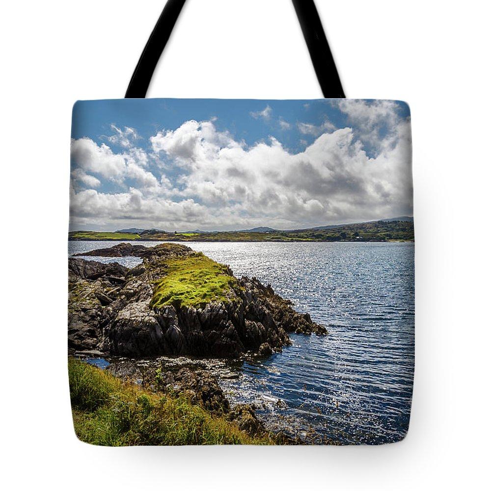 Beautiful Tote Bag featuring the photograph Irish Shore by Diego Muzzini