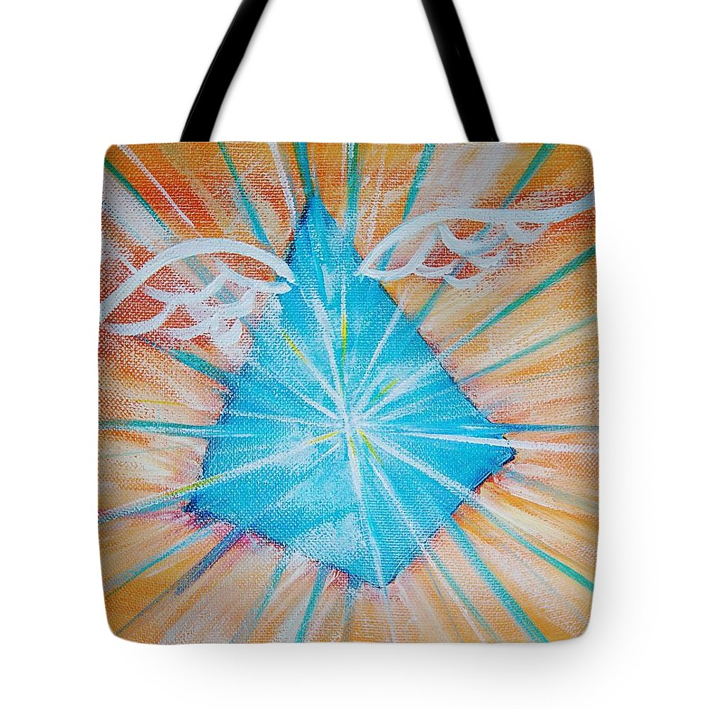 Goddess Tote Bag featuring the painting Isis Essence by Tara Moorman