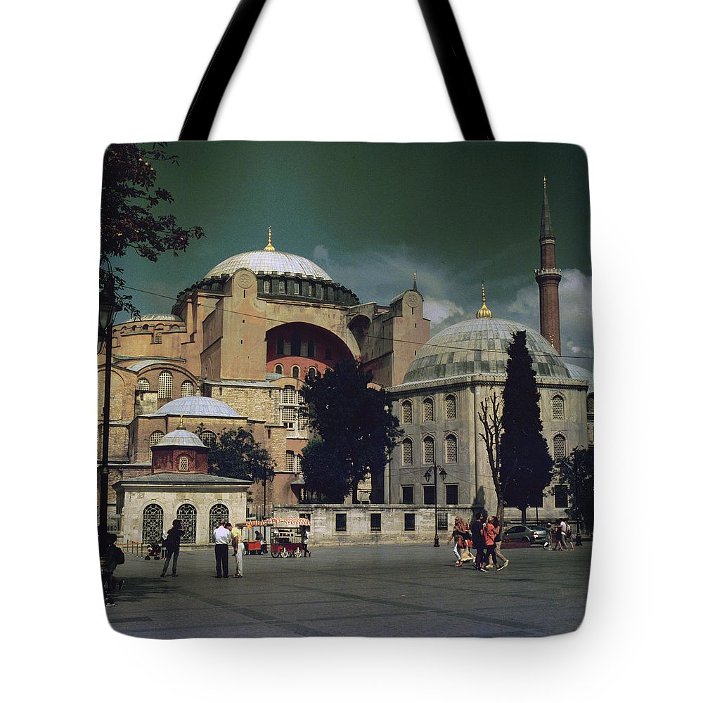 Instanbul Tote Bag featuring the photograph Istanbul by Evgeny Ivanov