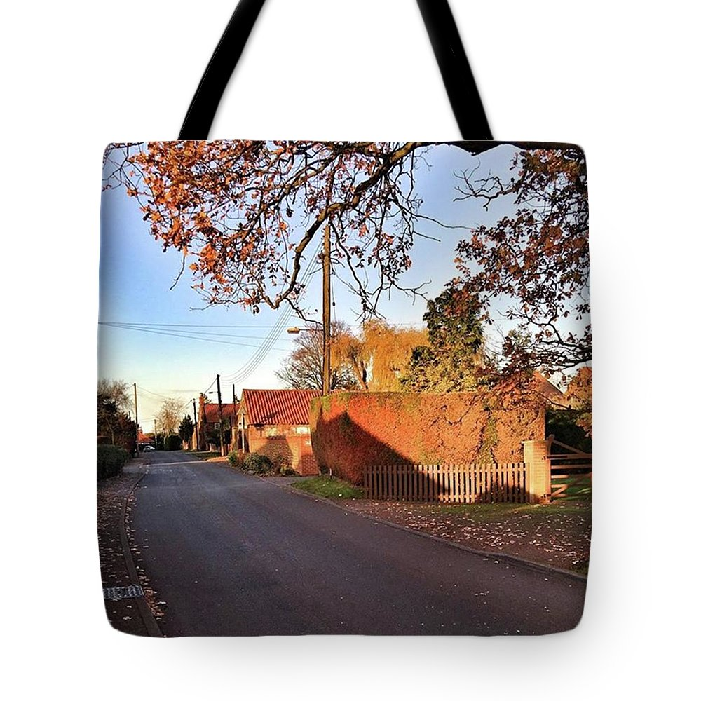 Kingslynn Tote Bag featuring the photograph It Looks Like We've Found Our New Home by John Edwards