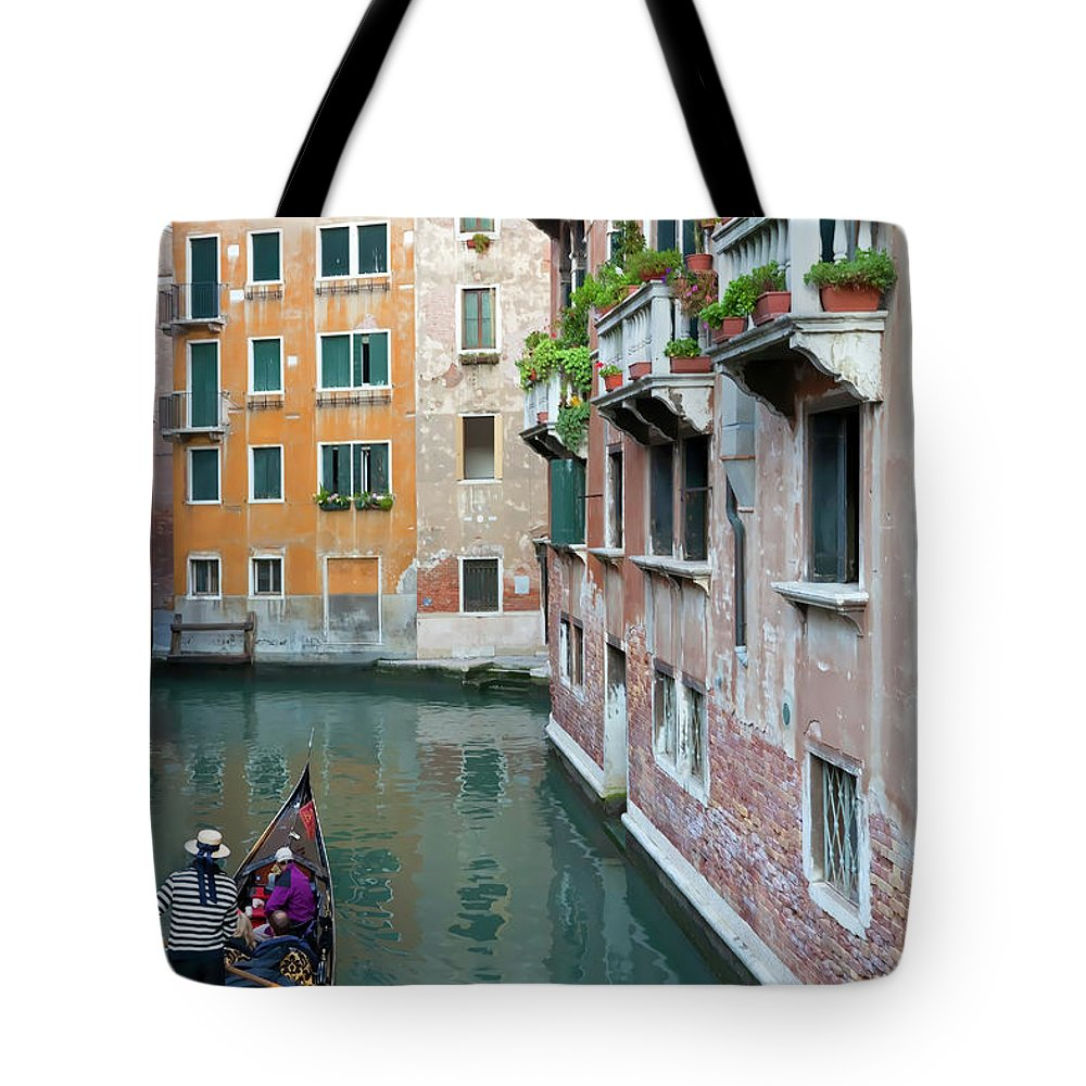 Italy Tote Bag featuring the photograph It Must Be Venice by Janet Fikar