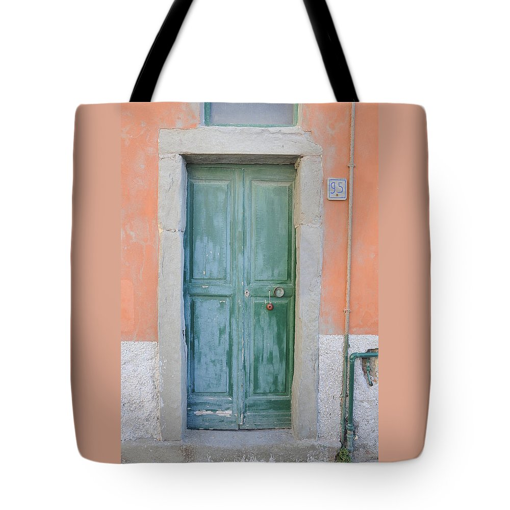 Europe Tote Bag featuring the photograph Italy - Door Five by Jim Benest