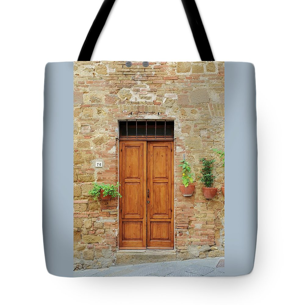 Europe Tote Bag featuring the photograph Italy - Door Six by Jim Benest