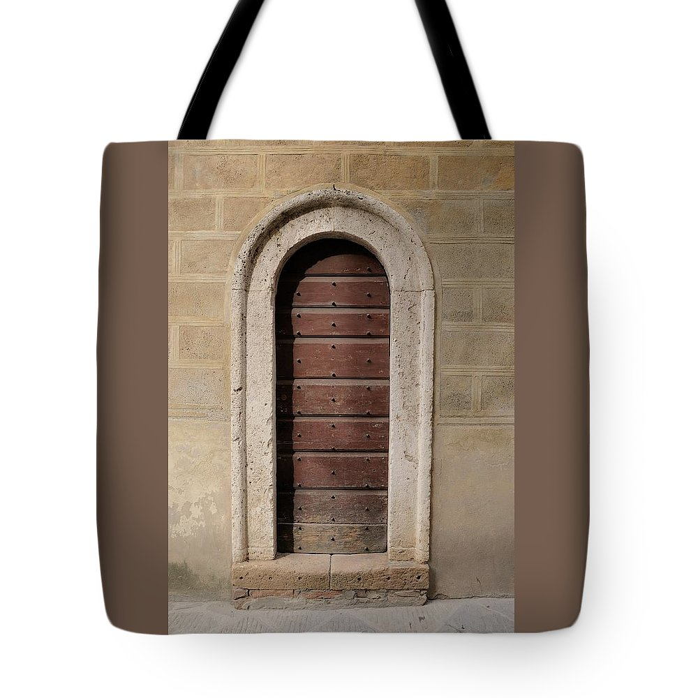 Europe Tote Bag featuring the photograph Italy - Door Ten by Jim Benest