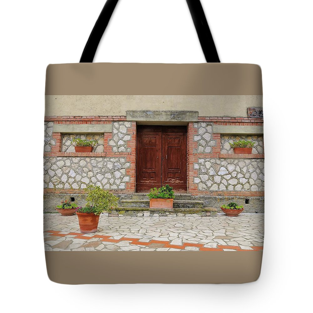 Europe Tote Bag featuring the photograph Italy - Door Twenty Two by Jim Benest
