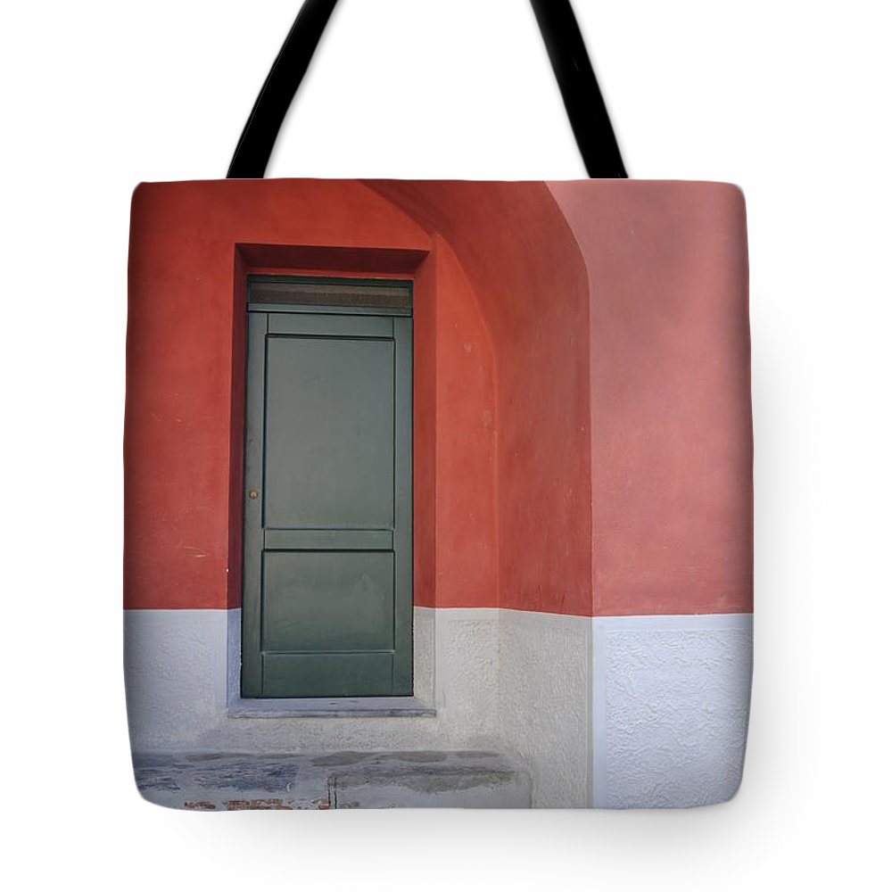 Europe Tote Bag featuring the photograph Italy - Door Two by Jim Benest