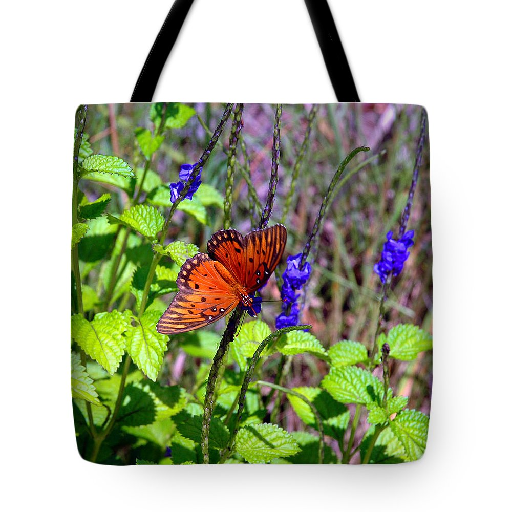Butterfly Tote Bag featuring the photograph Its Summer by Susanne Van Hulst