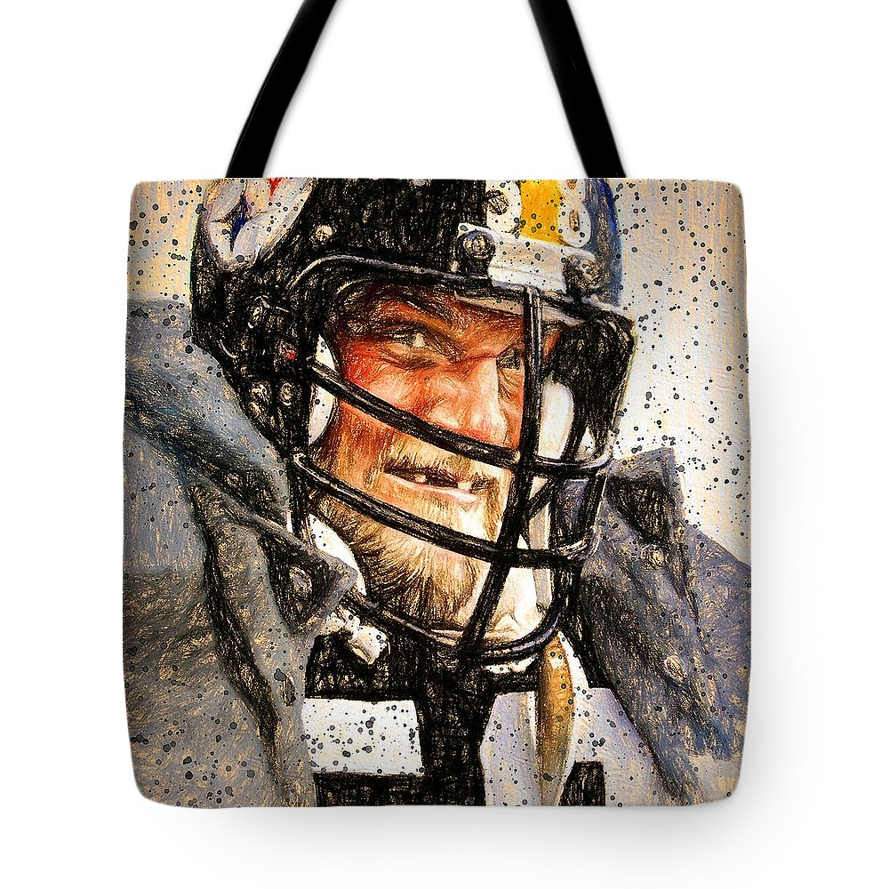 Linebacker Tote Bags