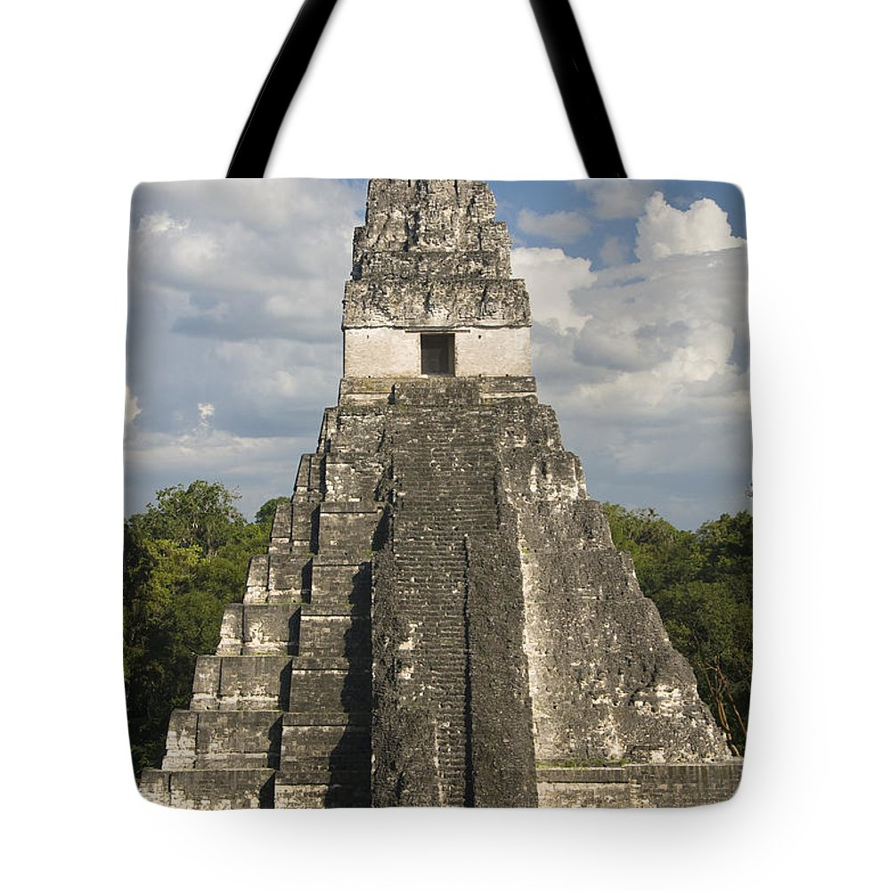 American Tote Bag featuring the photograph Jaguar Temple by Gloria & Richard Maschmeyer