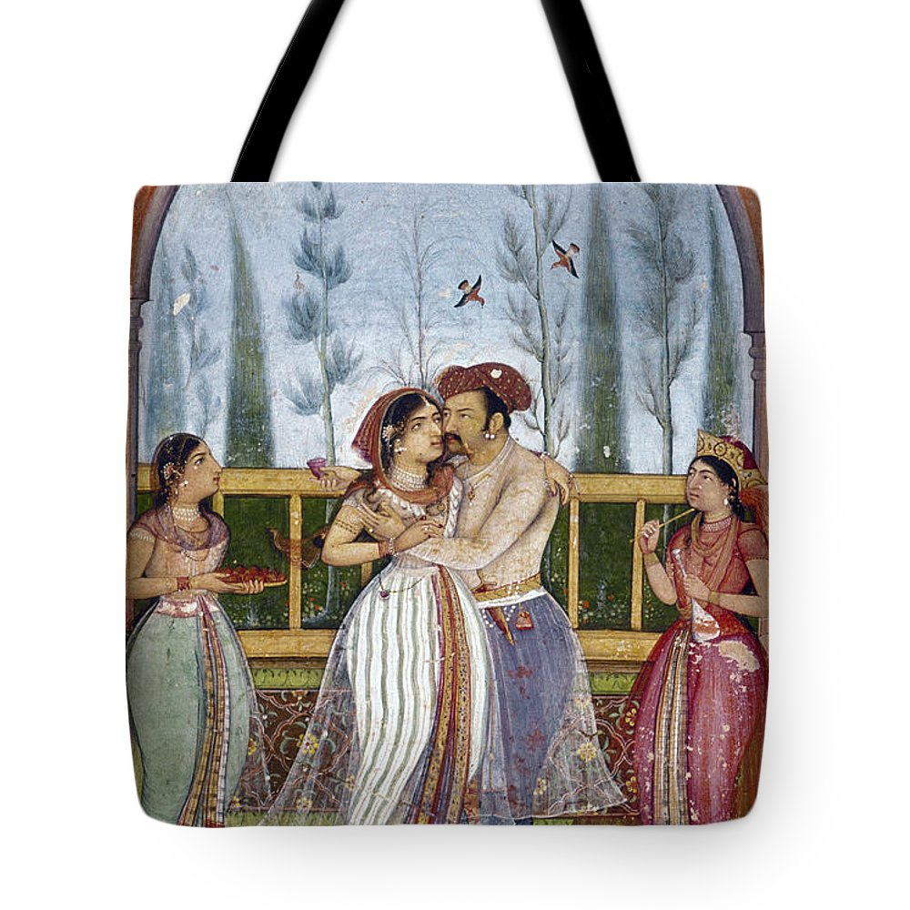 1615 Tote Bag featuring the photograph Jahangir (1569-1627) by Granger