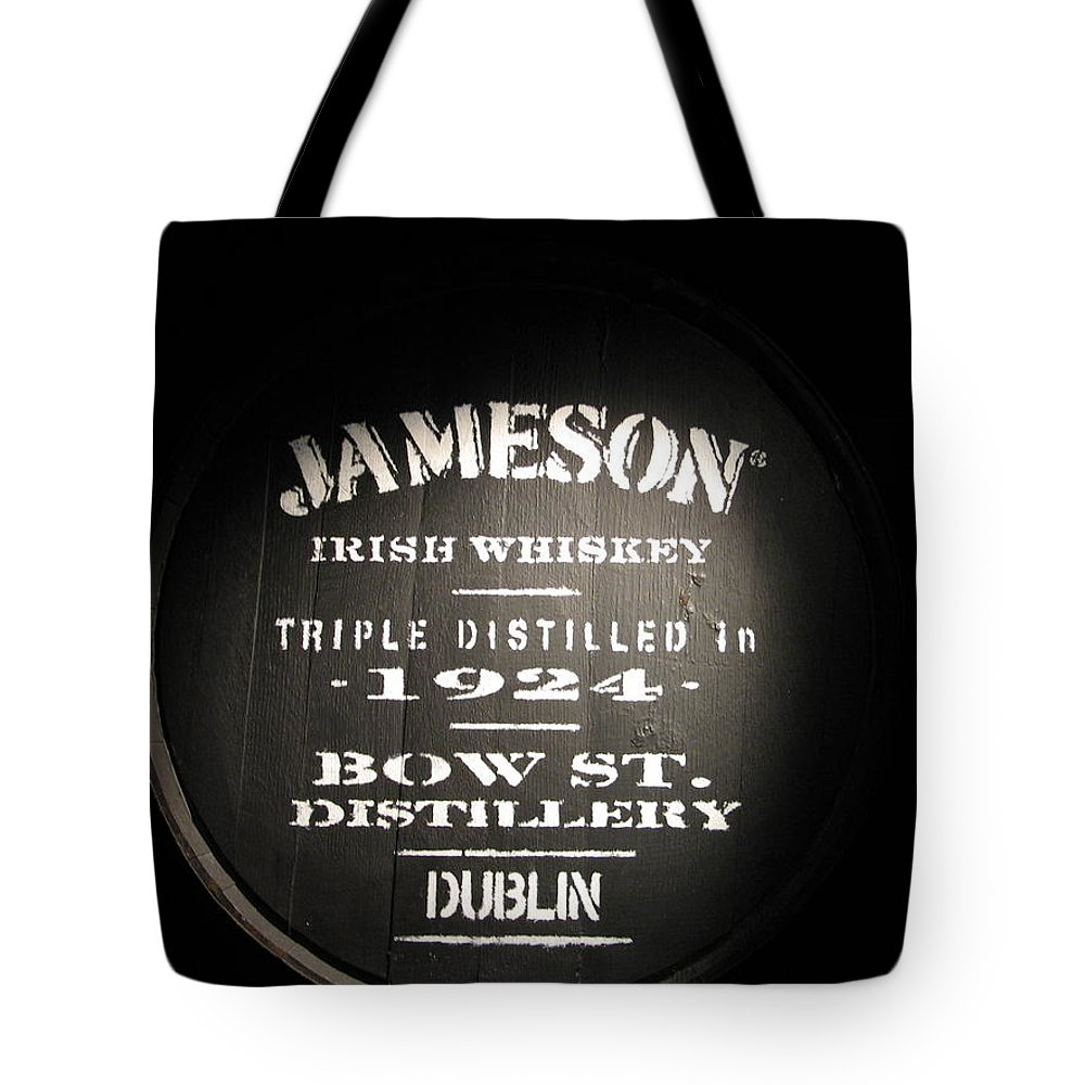 Jameson Tote Bag featuring the photograph Jameson by Kelly Mezzapelle
