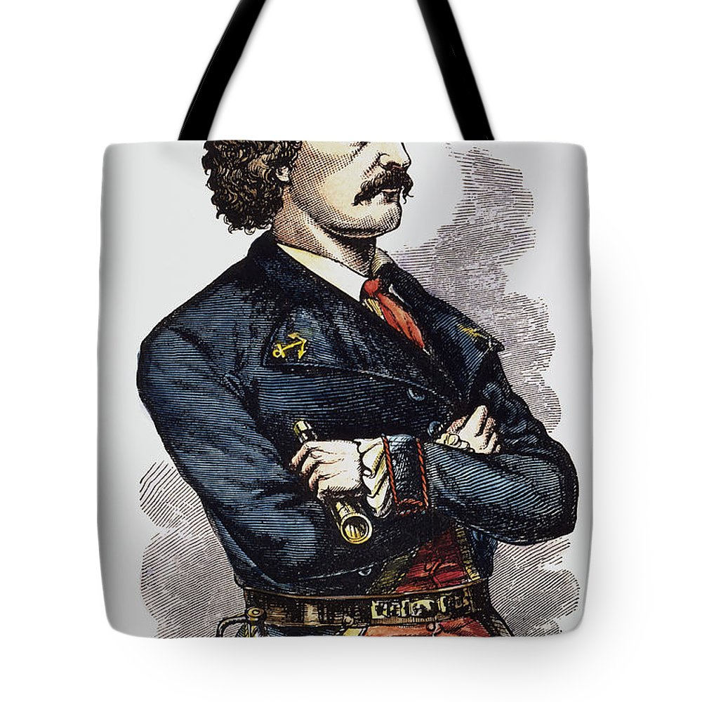 19th Century Tote Bag featuring the photograph Jean Lafitte (c1780-c1826) by Granger