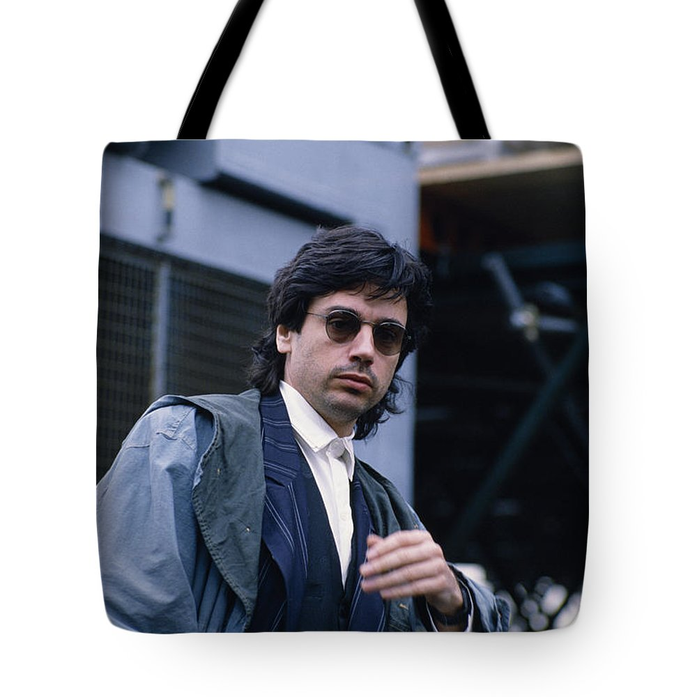 Musician Tote Bag featuring the photograph Jean Michel Jarre by Shaun Higson