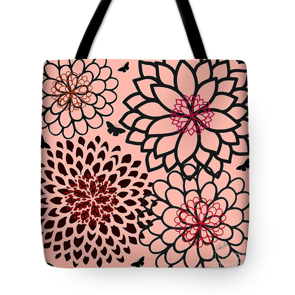 Floral Tote Bag featuring the photograph Jean by Sharon Johnston