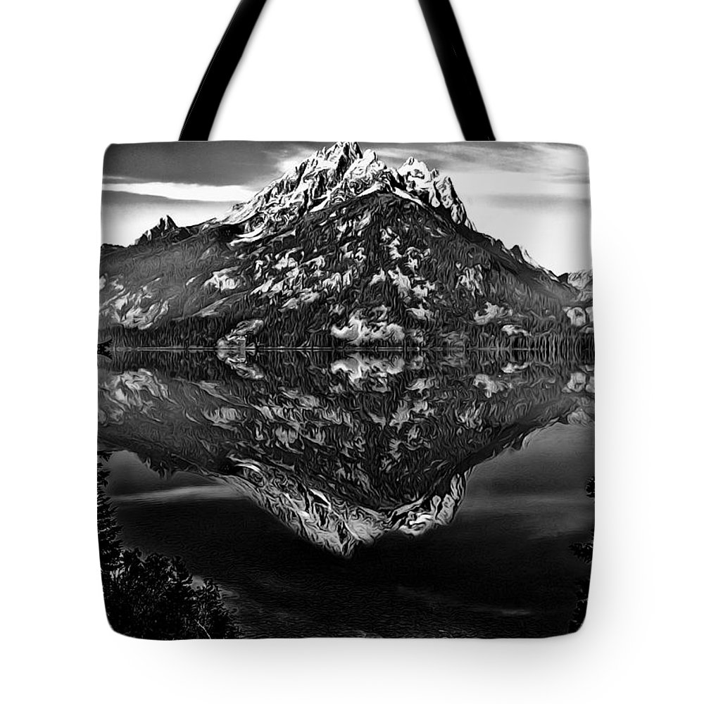 Altitude Tote Bag featuring the photograph Jenny Lake by Maria Coulson