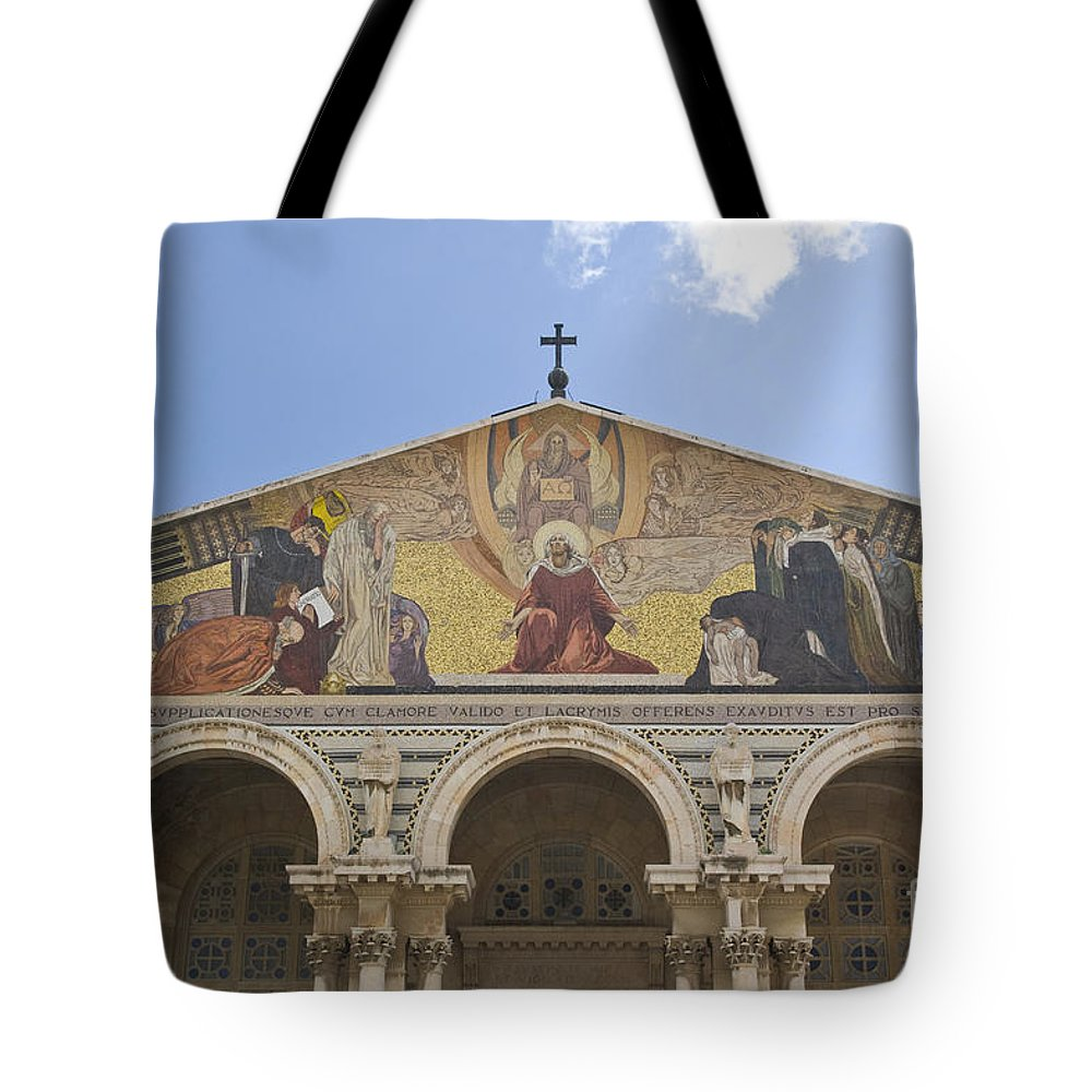 a5286ba884 Israel Tote Bag featuring the photograph Jerusalem by Ohad Shahar
