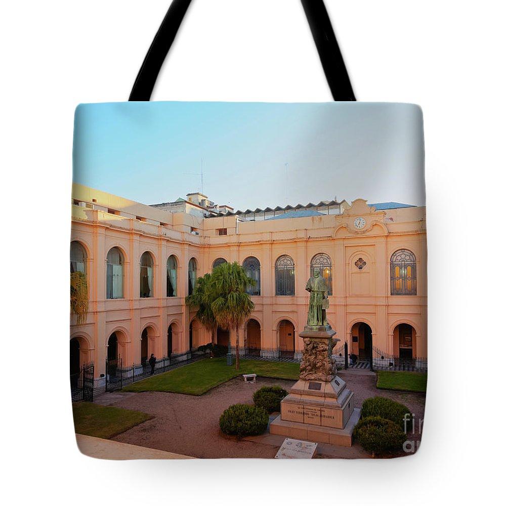 South America Tote Bag featuring the photograph Jesuit Block, Cordoba, Argentina by Karol Kozlowski