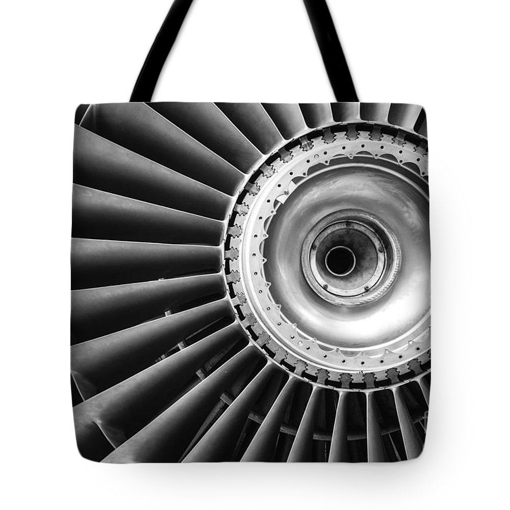 Jet Tote Bag featuring the photograph Jet by Rob Hawkins