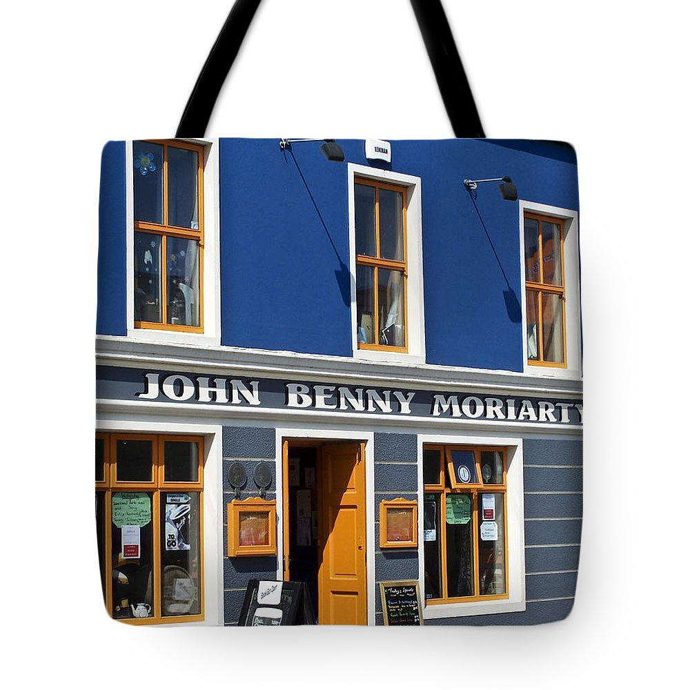 Irish Tote Bag featuring the photograph John Benny by Teresa Mucha