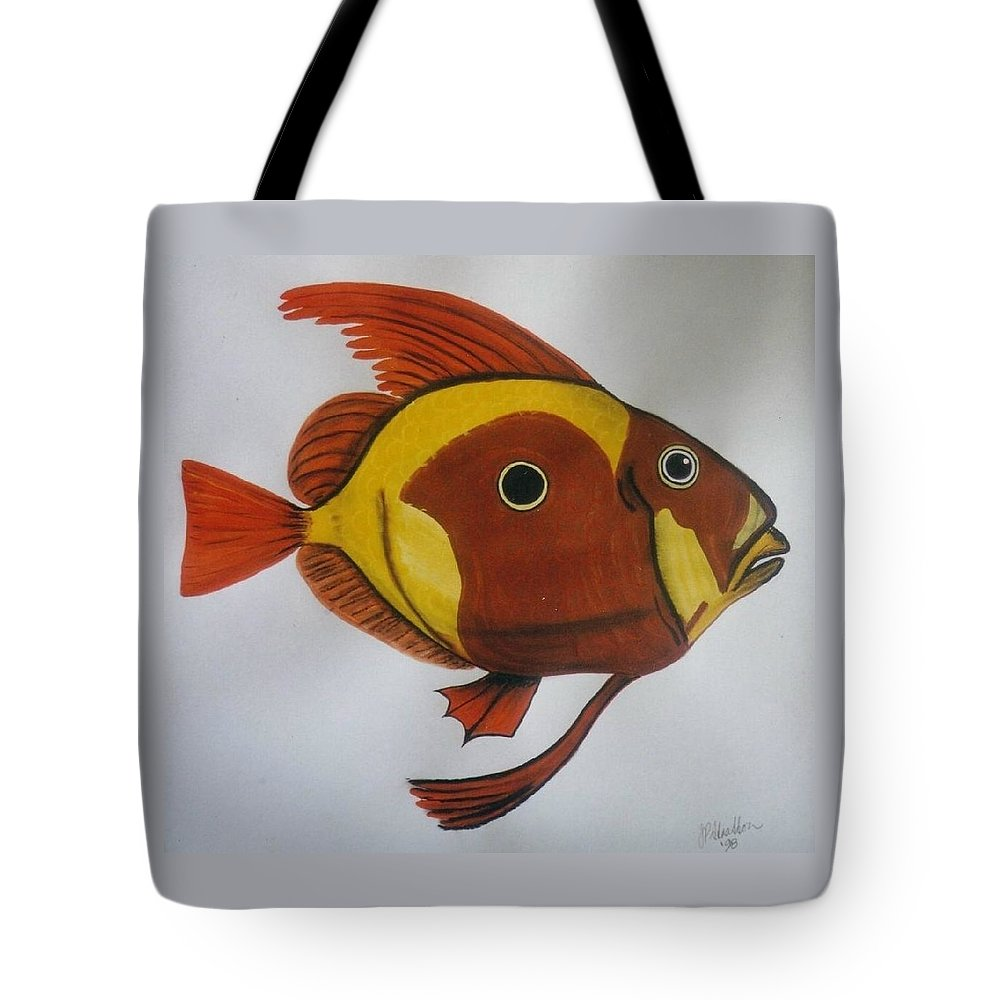 John Dory Tote Bag featuring the painting John Dory by Joan Stratton