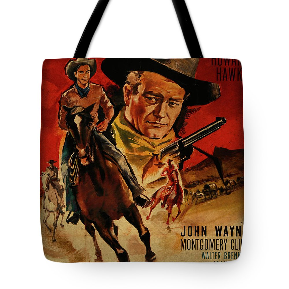 John Wayne Red River French Version Vintage Classic Western Movie ...