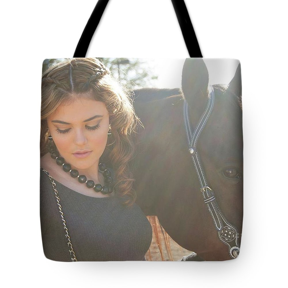 Tote Bag featuring the photograph Jordan-display Only by Isabel Menzel