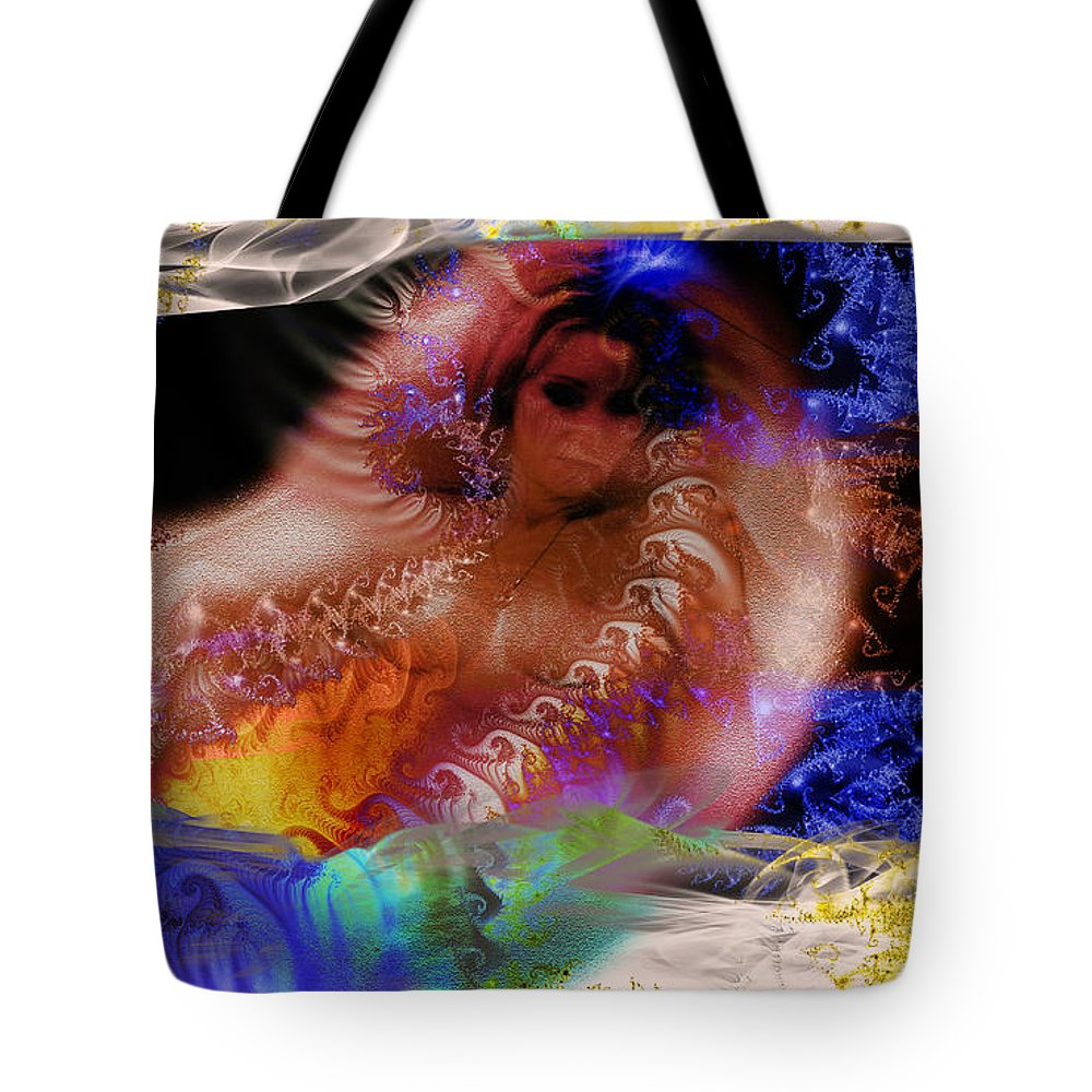 Clay Tote Bag featuring the photograph Journey To The Centre Of Man's Mind by Clayton Bruster
