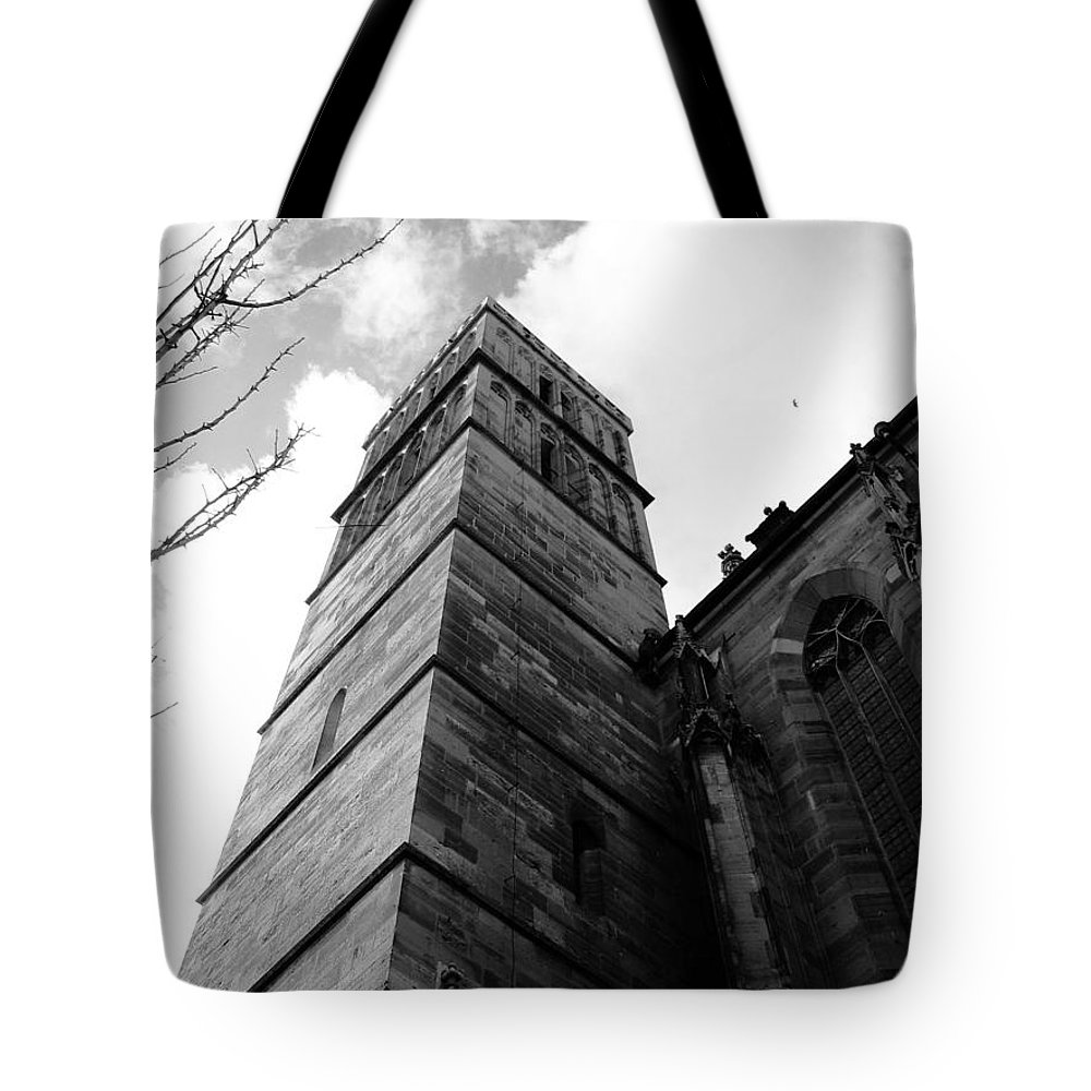 Cathedral Tote Bag featuring the photograph Judgment by Dylan Punke