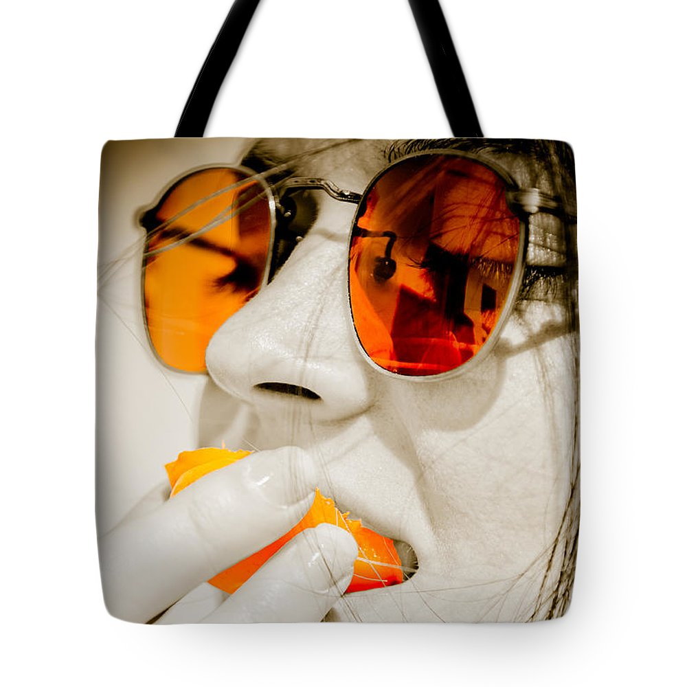 Loriental Tote Bag featuring the photograph Juicy Fruits by Loriental Photography