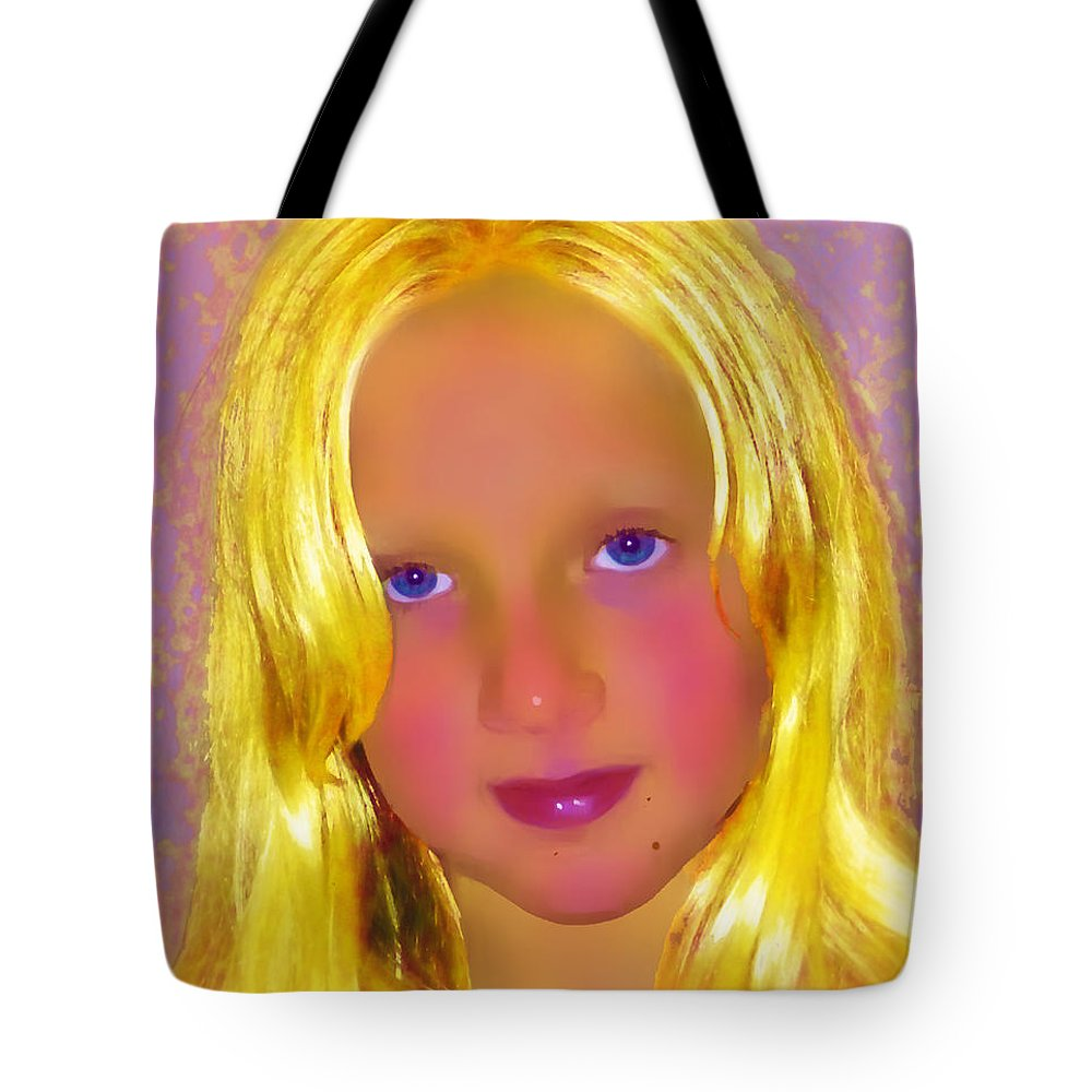 Portrait Tote Bag featuring the photograph Julia by Jeff Breiman