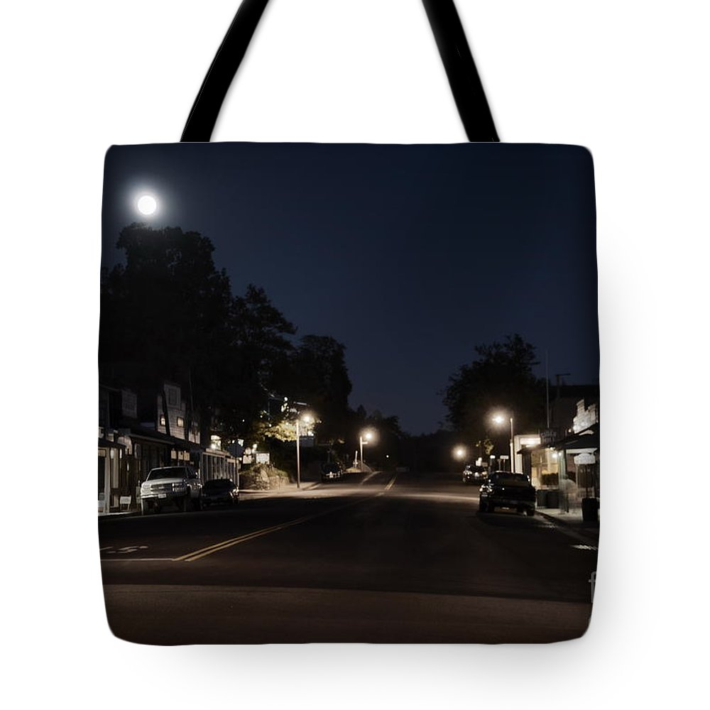 Julian Tote Bag featuring the photograph Julian Moon by Alex Morales